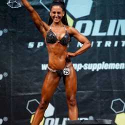 Christin Rohlehr, Bikini Gesamtsiegerin IDM 2015