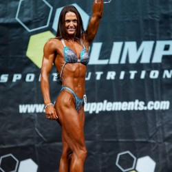 Diana Petry, Siegerin IDM 2015 Fitness Figur