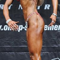 Int.Deutsche Meisterin 2014 Gesamtsiegerin Fitness-Figur