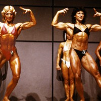 Die ersten deutschen Frauen-BB-Meisterinnen Hildegard Schäfer (zweimal Vize, einmal Gesamtsiegerin 1983) und Vera Bendel (zweimal Gesamtsiegerin 1981 u. 1982). Beide waren auch international sehr erfolgreich.