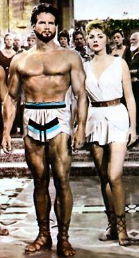 als sensationeller erster Film - Herkules 1958