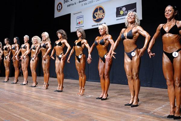 Vergleiche Frauen Fitness