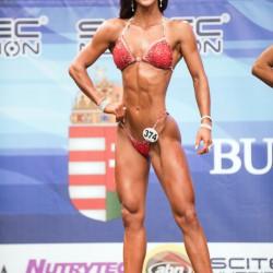Marina Krause gewann den Vize-Weltmeistertitel in der Bikiniklasse bis 172 cm