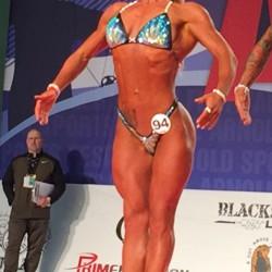 Nelly Maier wurde Dritte bei der Arnold Classic 2017 in Columbus in der Figurklasse bis 159 cm.