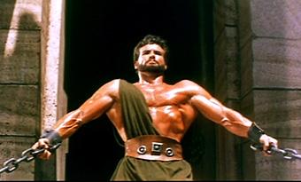 Als Filmidol 1958 in einem Herkulesfilm. Er löste mit seinen Filmen den ersten Bodybuilding-Boom in Deutschland aus !